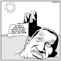 Hosni Mubarak Egyptian revolution cartoon